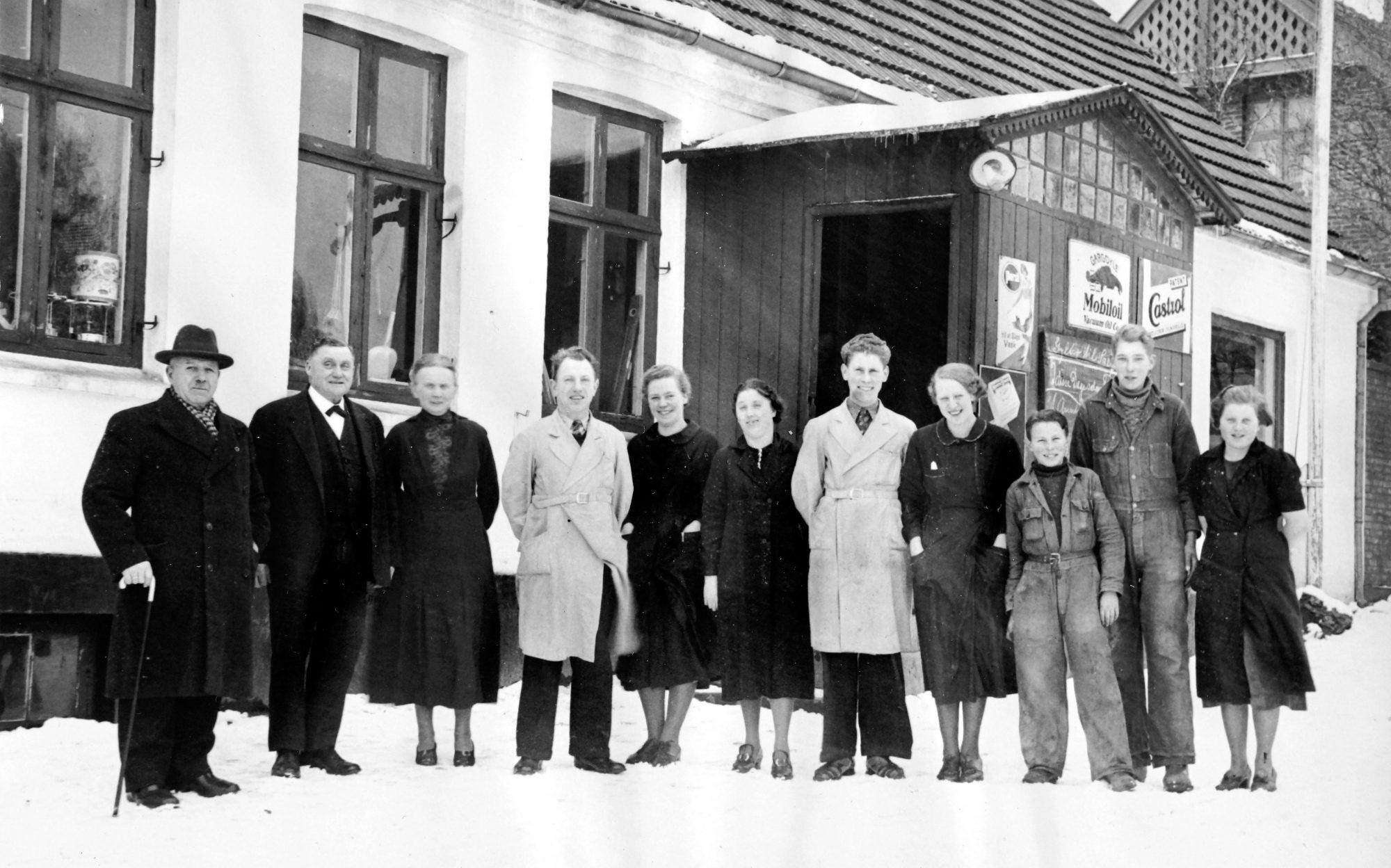 Klemensker Brugs1937 personale