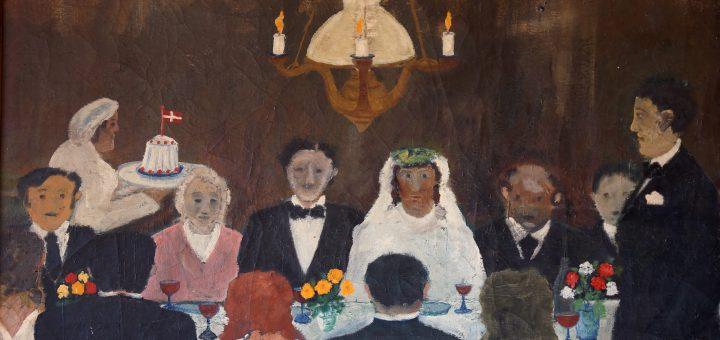 Bondebryllup af Nils Maurits Nilsson (1895-1959)