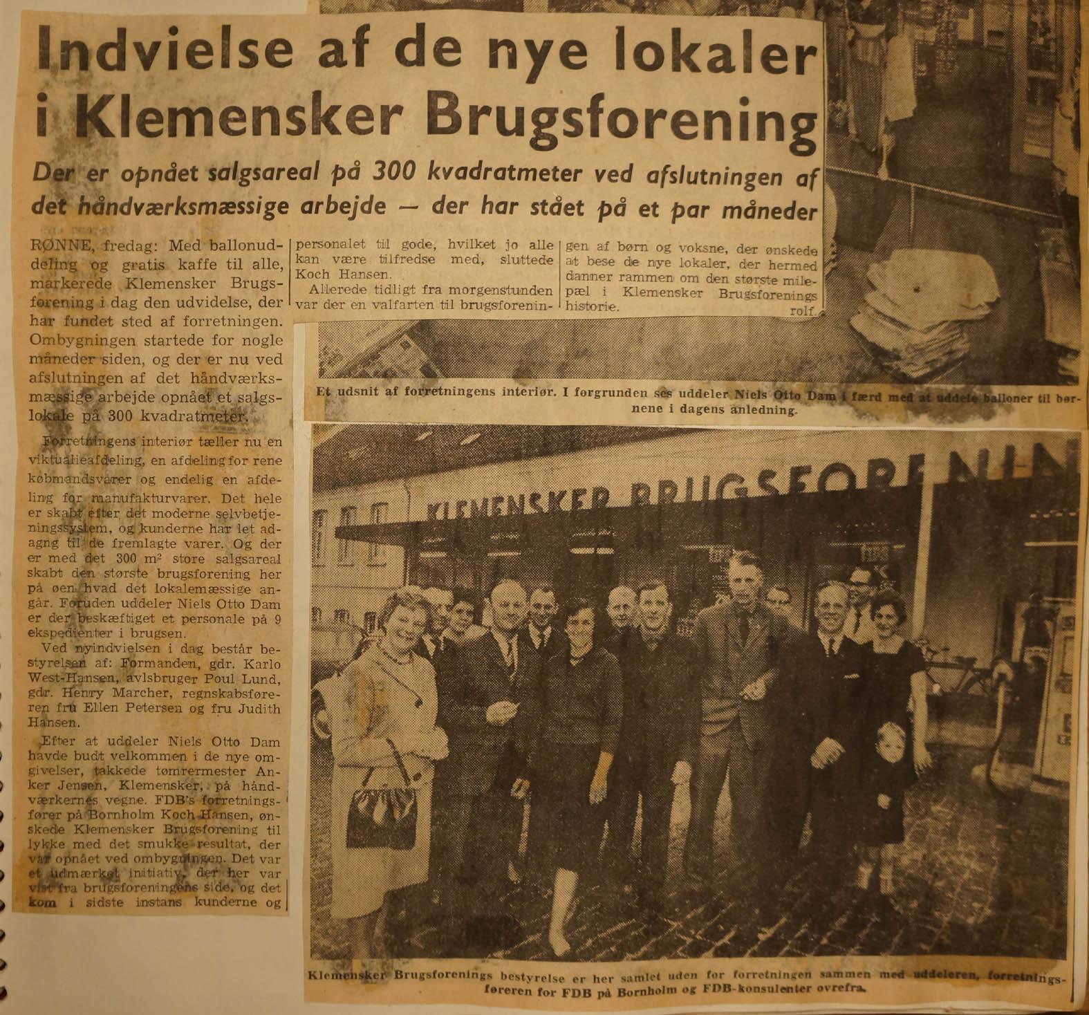 klemensker-brugs-1963-og-bestyrelsen